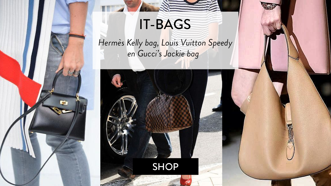 d2a4f6091b6 Tweedehands it-bags van Hermès Kelly, Dior Saddle bag, Gucci en Chanel 2