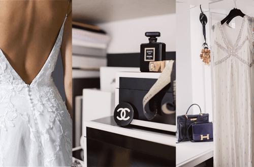 Vintage Designer Bruiloft bij The Next Closet