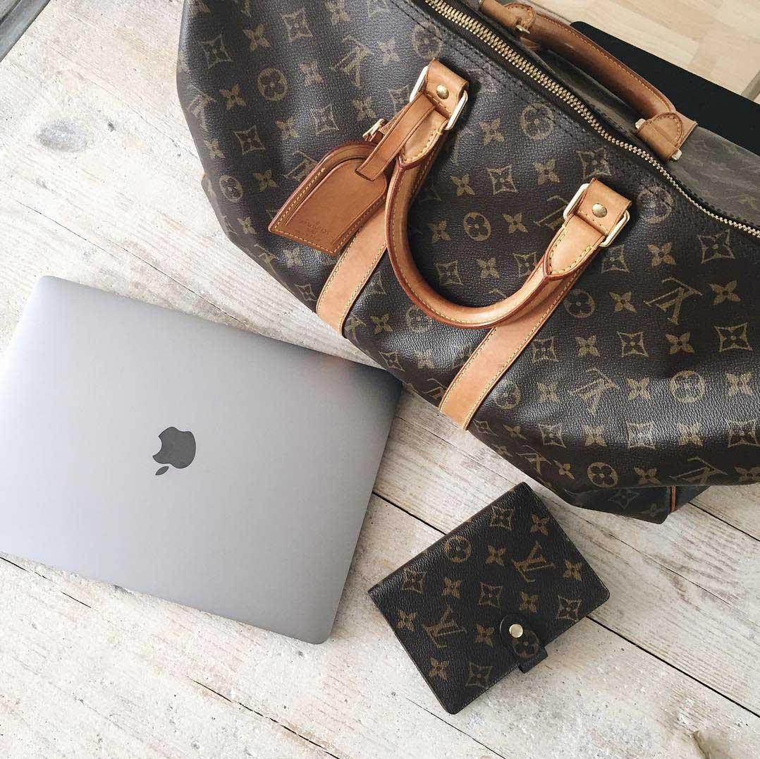 Tweedehands Louis Vuitton Keepall Bags by Es bij The Next Closet