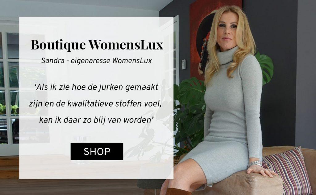 Interview TNC boutique Womenslux Sandra tweedehands designer jurken