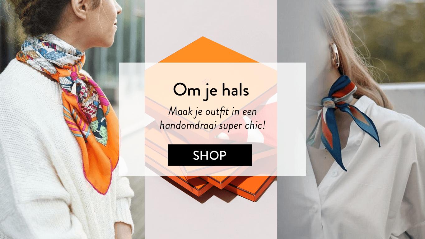 Dit is hoe je de Hèrmes sjaal draagt!